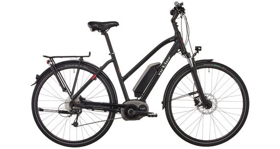 Ortler Bozen E-Trekking Bike Women Trapez black